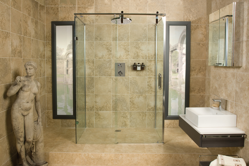 Roman bathrooms sticks stones bathrooms and flooring Roman style bathroom designs